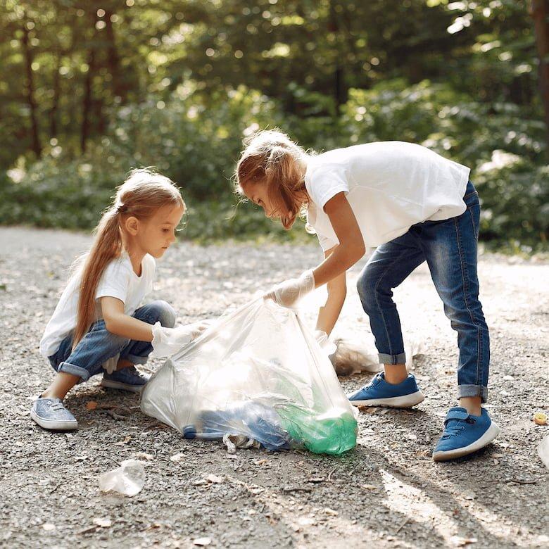 Actividades en familia con material reciclable